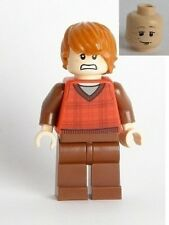 LEGO - HARRY POTTER - Ron Weasley, Tartan with V-neck Pattern - MINI FIG