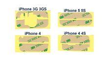 STICKERS Adhésif ÉCRAN 3M HAUT + BAS pour Vitre Écran LCD iPhone 3G 3GS 4 4S