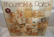 MOUSTAKI & FLAIRCK  GEORGE MOUSTAKI ERIK VISSER   French Folk LP