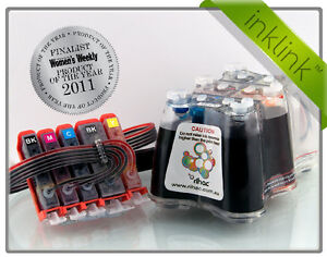 RIHAC Inklink CISS for Canon IP3600 cartridges PGI 520BK CLI 521 CIS ink system