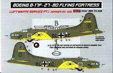 KORA Decals 1/72 BOEING B-17F FLYING FORTRESS IN LUFTWAFFE SERVICE