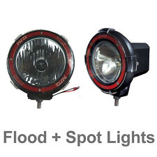 Pair 4 inches 4x4 Off Road 6000K 55W Xenon HID Fog Lamp Light Flood+Spot (2pcs)