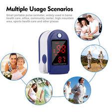 Fingertip Pulse Oximeter Blood Oxygen Saturation Monitor Portable Digital