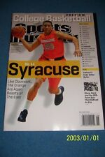 2012 Sports Illustrated SYRACUSE Brandon TRICHE College Basketball Preview N/Lab