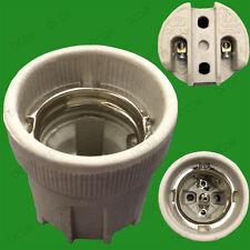 Porzellan Glühbirne Lampenfassung E27 Keramik ohne Halterung temperaturbeständig
