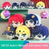 10cm JoJo's Bizarre Adventure Kujo Jotaro Plush Doll Giorno Bucciarati Toy Gift