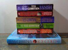 Tess Gerritsen Lot of 6 RIZZOLI & ISLES Books Mystery Suspense ICE COLD Vanish