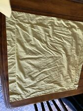 Next Large Yellow Pillow Cases x 2 Polyester & Cotton