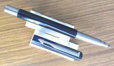Electric purple Parker Vector rollerball ballpoint pen, working order, good