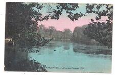vincennes ,le lac des minimes