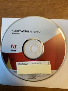 Adobe Acrobat 9 Pro Windows Full with serial number
