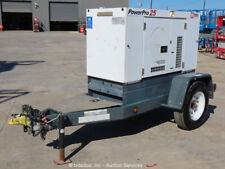 2013 Mmd Sdg25S 20 kw Towable Generator Power Pro 25 kVa Genset Isuzu bidadoo