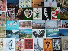 100 MODERN TYPE Postcards. Unused. Very Good - Mint condition.