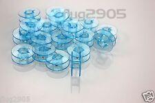 20 Pfaff Spulen * blau * Doppel-Umlaufgreifer 22x9 hobbymatic tipmatic tiptronic
