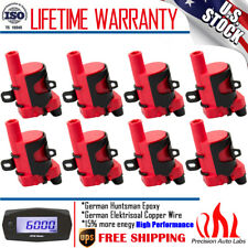 8 Pack Ignition Coil for Chevy Silverado 1500 2500 GMC 5.3/6.0L/4.8L UF-262 D585