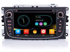 """Per FORD Mondeo Focus S-Max C-Max 7"""" HD Autoradio GPS Navigazione DVD USB MP3 SD"""