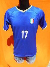 ITALIA Jersey Maillot Maglia Camiseta Trikot Rossi #17 Home Italy Cup Replica