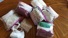 Lot Grab Bag 30-40 Yards Per Bag LACE Sew Sewing supplies