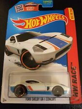 "HOT WHEELS HW  2015 TRACK ACES ""FORD SHELBY GR-1 CONCEPT ~ 178/250 ~ NEW"