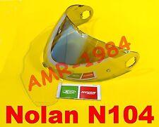 VISERA ORIGINAL NOLAN N104 SILVER + visera PINLOCK NMS-03S desde XXS a La L