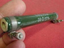 "SELTEN! HOCHLAST WIDERSTAND 39 Ohm 25W ""ROSENTHAL""  D=14x100mm        25761"