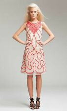 Alice by Temperley Oyster Mix Ezra Dress SIZE 12 RRP £625..........#*4