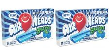 2x Air Heads Gum With Micro-Candies Blue Raspberry Flavored American Sweets-New