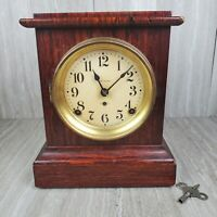 Incredible Antique Seth Thomas 1880's Adamantine Mantle Clock - WORKING!!