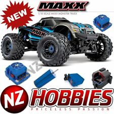 Traxxas 89076-4 X-Maxx 4WD 1/10 SCALE Brushless Electric Monster (BLUE)