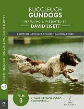 David Lisett Gundog Training - Complete Springer Spaniel Series - DVD 3
