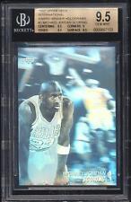 1991 UD INTERNATIONAL BLANK BACK Michael Jordan #3 Award Winner BGS 9.5 GEM MINT