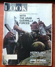 May 1969: LOOK Magazine: Israel war with Arab guerrillas, Astrology, Jane Fonda