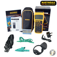 Martindale HandyPAT 500 handheld PAT Tester - Comes Calibrated plus accessories