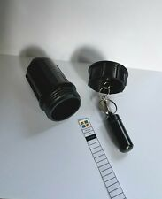 Fake Sprinkler Bison Tube Cache Container for Geocaching comes with a Log Book