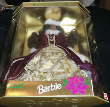 MIB Happy Holidays Black Barbie Special Edition 1996 Mattel.