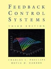 Feedback Control Systems, Charles L. Phillips, Royce D. Harbor, Good Book