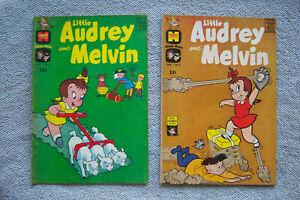 LITTLE AUDREY AND MELVIN 6 & 8 Harvey Comics 1963