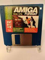 Disk 67b Sensible World of Soccer Amiga Format Cover Disk