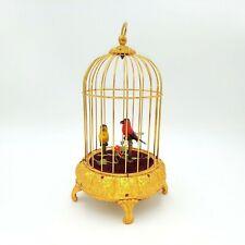 Vintage Singing Birds Musical Automaton Elpa Animated West Germany Bird Pair