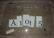 A1015 - VETRO SCENDENTE DESTRO FIAT DUCATO '94