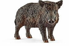 Schleich 14783 Wild Boar Hog Pig Model Wild Animal Toy Model Figurine 2017 - NIP