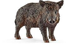 Schleich 14783 Wild Boar Hog Pig Model Wild Animal Toy Model Figurine 2017 - NIP