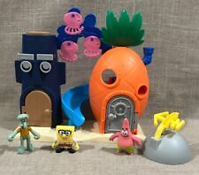 Lot Of Imaginext Bikini Bottom Spongebob SquarePants Squidward Patrick Playset