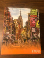 Andrews Blaine Little Italy 1,000 Piece Jigsaw Puzzle by Melissa Wang