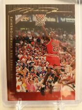 1994-95 UPPER DECK SERIES 1 MICHAEL JORDAN BASKETBALL HEROES #43
