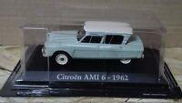 "DIE CAST ""  CITROEN AMI 6 - 1962 "" SCALA 1/43 RBA AUTO INDIMENTICABILI"