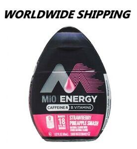 MiO Energy Strawberry Pineapple Smash Water Enhancer 1.62 Fl Oz FREE WORLD SHIP