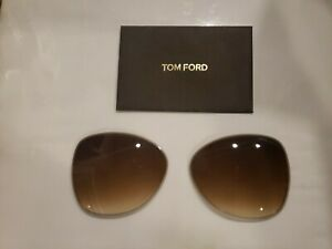 Authentic Replacement Lens for TOM FORD - COLLETTE  TF 0250 - Gradient Brown