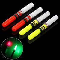 2Pc Fishing Float Light Stick LED Luminous Float For Dark Night Fishing Fad US