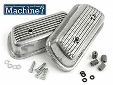 Classico VW Beetle Motore ROCKER COVER CAP DI ALLUMINIO BOLT-ON Bug Camper Bus t2 t1
